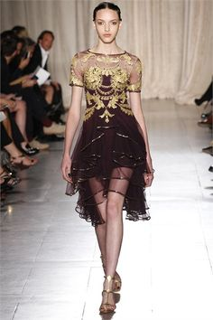 Marchesa - Spring Summer 2013 Ready-To-Wear.. india!
