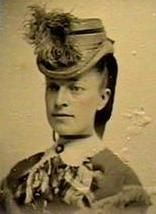 c.1870s Hat with shaped brim and feathers coming over the top. The Barrington House Educational Center, L.L.C.