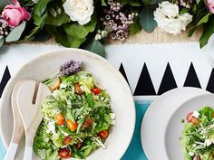 9 Healthy Salads to Try This Spring: Lunch and dinner just got a major upgrade. via @mydomaine