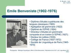Emile Benveniste (19