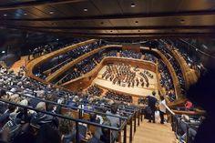 sala koncerowa NOSPR / NOSPR concert hall photo by Daniel Rumiancew #nospr