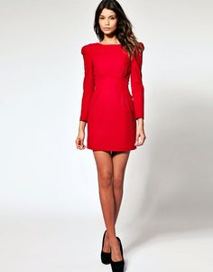 A gorgeous red dress from ASOS? Merry Christmas to me. I couldnt help myself. This is probably why my family hates shopping for me.