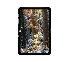 Protective Samsung Galaxy 2 (10.1) Case Winter Snow Trees. $25.00, via Etsy.