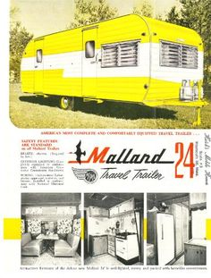Wonderful Images Vintage Caravans yellow Style Is the best caravan all of substance, zero fashion? Here i will discuss a very good reason for you to get some new inte Retro Travel Trailers, Vintage Campers Trailers, Retro Campers, Vintage Caravans, Camper Trailers, Classic Campers, Classic Trailers, Vintage Rv, Vintage Yellow
