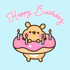 Pusheen : Comics Archives - Page 4 of 32 - Pusheen Cat Birthday Wishes, Christian Birthday Wishes, Birthday Cartoon, Cute Happy Birthday, Happy Birthday Images, Birthday Cards, Pusheen Happy Birthday, Birthday Gifs, Cute Kawaii Drawings