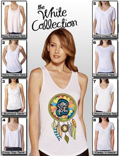 #Sorority #Dreamcatcher Design $19.95 #Greek #Clothing #WhiteCollection #NoMimimums