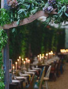fairytale reception entrance
