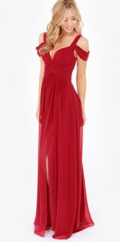 Off the shoulder a line prom dress with beaded bodice and pleated waist