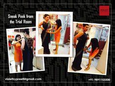 Sneak peek from the Trail Room.  +91-9891153300 | violetbypreeti@gmail.com www.preetisinghal.com