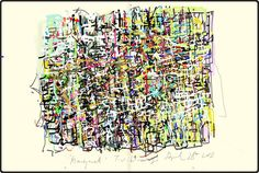 Twitter / artistborth. Created in Moleskine Journal.