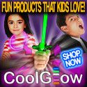 Party Theme Ideas For Your Child's Party. Add some cool glow to make your party stand out