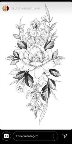 Rasta Tattoo, Lotusblume Tattoo, Henna Tattoo Hand, Tattoo Outline, Floral Tattoo Design, Flower Tattoo Designs, Flower Tattoos, Flower Tattoo Drawings, Inner Forearm Tattoo
