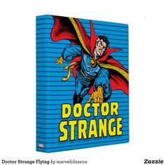 Doctor Strange Flying Binder. Personalize these Classic Marvel character designs and make perfect gifts for any fans. #marvel #comic #gifts #birthday #birthdayparty #birthdaycard #personalize #kids #shopping