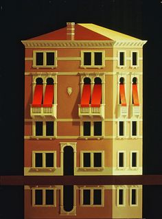 Palazzo  (Venice)   by Renny Tait                               2000   112x86cm   Oil on Canvas