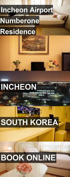 Hotel Incheon Airport Numberone Residence in Incheon, South Korea. For more information, photos, reviews and best prices please follow the link. #SouthKorea #Incheon #travel #vacation #hotel