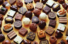 The ring of  chocolate - chocolate Photo