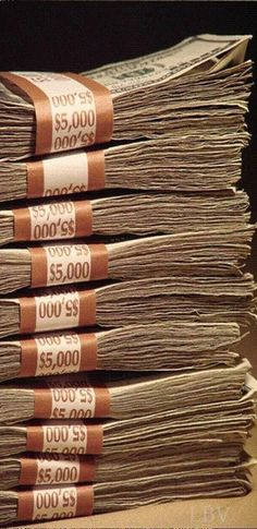 Cash Availability For The Weekend  ....♡♥♡♥♡♥Love★it Show Me The Money, How To Get Money, Mo Money, Cash Money, Cash Cash, Money Pics, Money Fast, Money Stacks, Make Millions