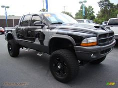 lifted 4x4 | 2003 Dodge Dakota SLT Quad Cab 4x4 in Bright Silver Metallic photo #5 ...