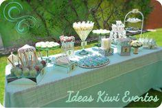 Vintage Mint Candy Buffet