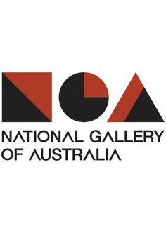 Logo Loving // National Gallery of Australia http://nga.gov.au/Home/Default.cfm