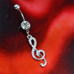 I want this belly button ring! #music