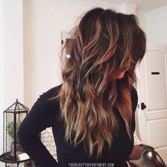 Tortoiseshell Hair Color Trend | The Beauty Department                                                                                                                                                                                 Más