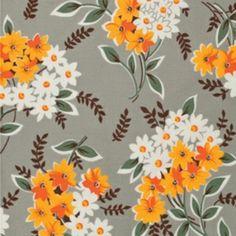 Denyse Schmidt - Flea Market Fancy - Bouquet in Grey
