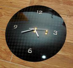 carbon fiber clock...