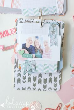 Project Life Tag Album   Heidi Swapp and Project Life team up with September Skies journal cards to create a tag birthday album. @jamiepate for @heidiswapp