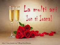 Romantic Background with Roses and Champagne Happy Birthday Pictures, Psd Flyer Templates, Name Day, Romantic Moments, Flower Frame, Happy Weekend, Wallpaper Backgrounds, Wallpapers, Rustic Decor