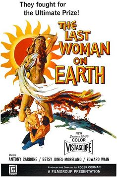 The Last Woman On Earth - 1960 - Movie Poster