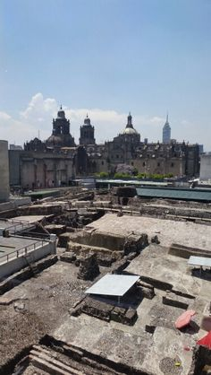 Catedral from Museo del Templo Mayor