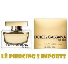 Perfume The One EDP Feminino 75ml Eau de Parfum Dolce   Gabbana Perfumes  Importados, Primeiro c81d09b215