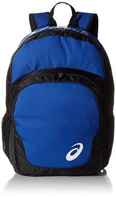 ASICS Unisex Adult Team BackpackRoyalBlackOne Size >>> Click image for more details. (This is an affiliate link)