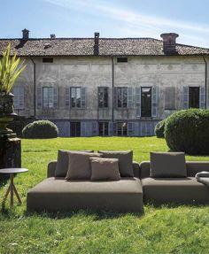 Roda | Sofa | Dandy collection | Grey | Outdoor