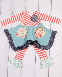 Giggle Moon Peace and Joy Hanky Set, Giggle Moon clothing - Available for pre-sale in size 3t - 7.