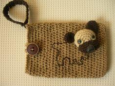 Un protector para el movil muy personalizado, ideal para aquellos que aman los animales como nosotros. #Movil #Protector #personalizado #crochet
