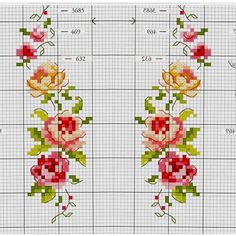 Resultado de imagen para hand embroidery motifs for bed linen # bed linen # hand embroidery motifs … – Embroidery Desing Ideas Tiny Cross Stitch, Cat Cross Stitches, Cross Stitch Books, Cross Stitch Borders, Cross Stitch Flowers, Cross Stitch Designs, Cross Stitching, Cross Stitch Embroidery, Hand Embroidery