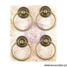 4 puxadores em ouro velho da prima marketing.
