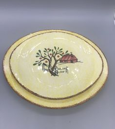 6 9 12 Dinner Plate by Blue Ridge Southern Potteries Holiday Dining Christmas Decor Cottage Farmhouse Neutral 1950 Dinnerware Set of Six