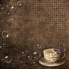 """Photo from album """"""""Coffee background"""""""" on Yandex. Journal Design, Scrapbooking, Decoupage Paper, Background Vintage, Writing Paper, Decoration, Painting Frames, Paper Texture, Cover Design"""