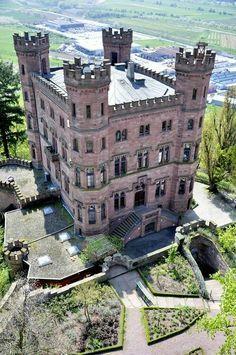 "doyoulikevintage: "" Ortenberg castle """