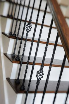 Decorative stair rai