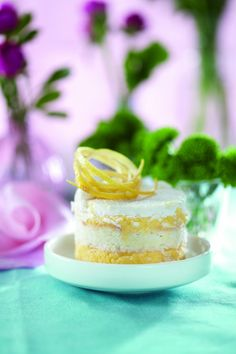 lemon wafer cake for passover