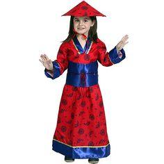 Disfraz de China #disfraces #infantil