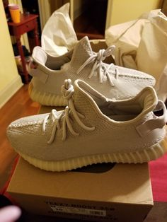 bec87d4a42ba0 yeezy boost 350 v2 sesame size 10men brand new never worn in box with  receipt