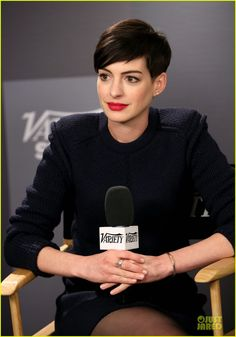 Anne Hathaway: Near Drowning Stories Were False! | 2014 Sundance Film Festival, Anne Hathaway Photos | Just Jared