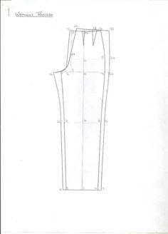 Basic Woman Pants Block (pattern)