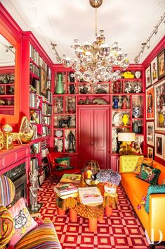 More is more! Color, textures, patterns, and more color are what's hot in interior design. View this complete guide to maximalist interiors - maximal style, the Boho Luxe Home way. Decoration Inspiration, Interior Inspiration, Design Inspiration, Decor Ideas, Travel Inspiration, Architectural Digest, Estilo Kitsch, Maximalist Interior, Deco Cool