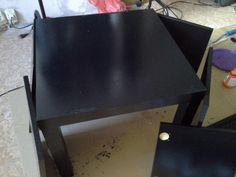 Покрасила Black Coffee Tables, New Life